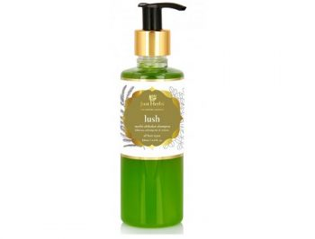 Just Herbs Lush Methi Shikakai Shampoo