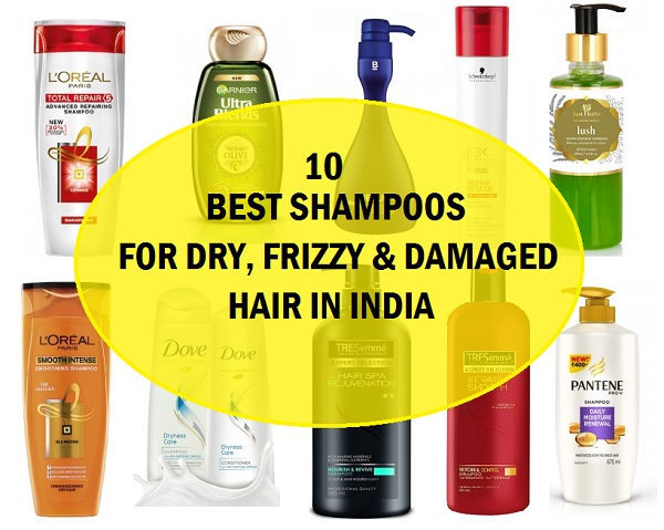 10 Top Best Shampoos for Dry and Damaged Hair in India