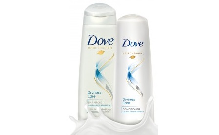 dove dryness care shampoo