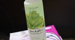 oriflame love nature cleasning gel