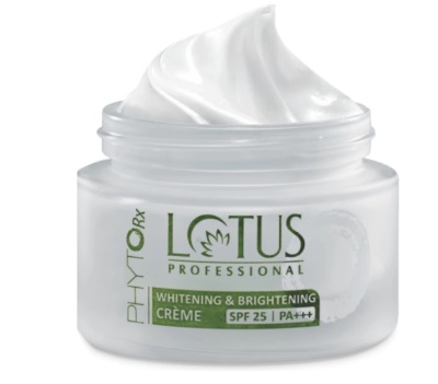 face cream lotus