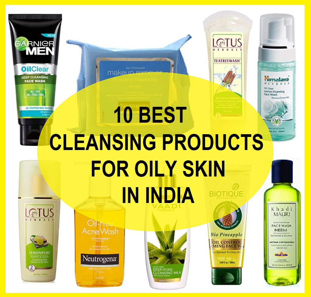 Cleansing Products For Oily Skin