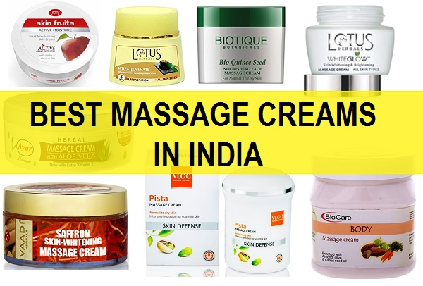 best massage creams in india