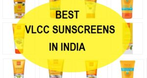 Best VLCC sunscreens in India