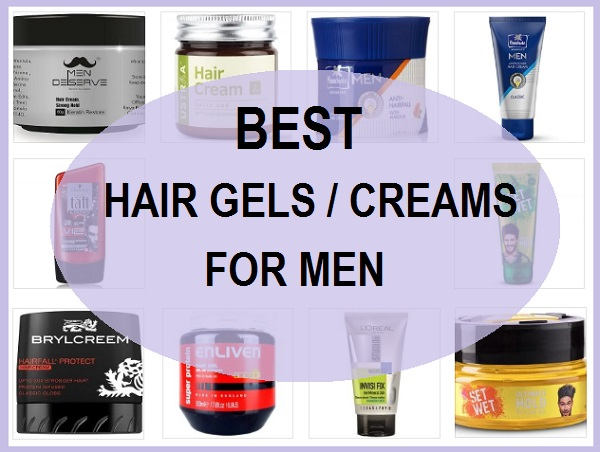 best hair gels and creams in india