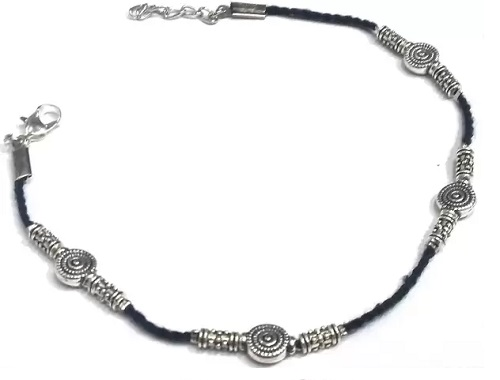 Tibetan Black Thread Anklet