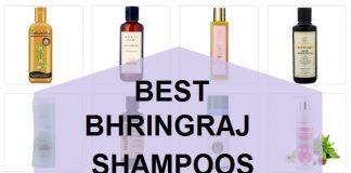 best bhringraj shampoos in india