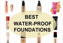 best waterproof foundations in India