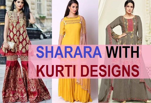 Latest sharara kurti designs