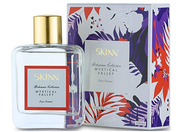 Titan EDP SKINN Perfume for Women in Mystical Valley