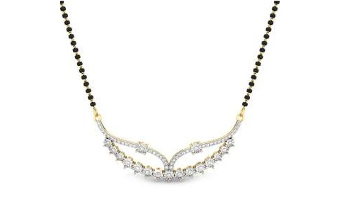 diamond mangalsutra designs 5