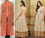 10 Latest Net Kurta Designs for Women