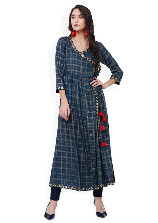 angrakha kurta for women 2