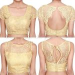 15 Net Blouse Designs for Women with Latest Images