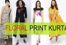floral print kurta 15
