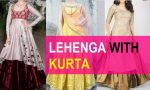 15 Latest lehenga kurta designs for women