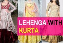latest lehenga kurtis designs for women