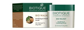 Biotique Bio Walnut Purifying & Polishing Scrub For Normal To Dry Skin