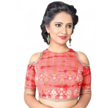 Designer Pattu Saree Blouse