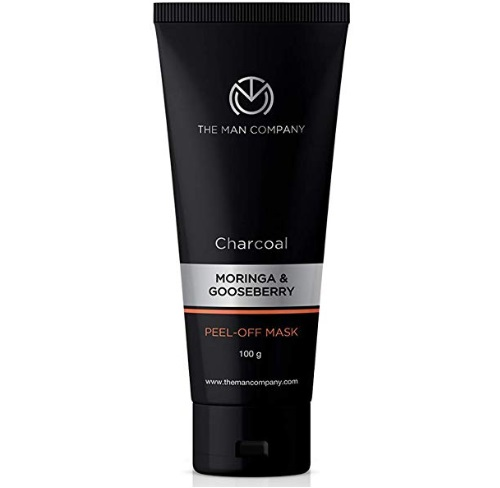 The Man Company Activated Charcoal Peel-Off Mask