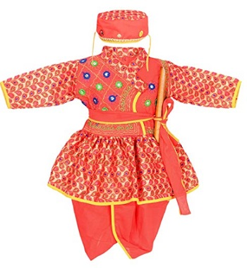Ahhaaaa Kids Ethnic Wear Kurta and Dhoti Pant for Boys