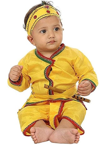 FOCIL Krishna Dhoti Kurta Dress for Kids