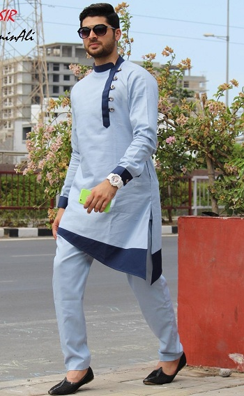 Fancy Pathani Kurta for Men