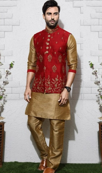 Kurta Jacket Dress For Men