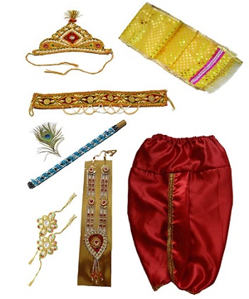 Pakhi Little Krishna Dhoti Dupatta Set