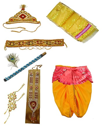 Pakhi Little Krishna Dhoti Dupatta Set1