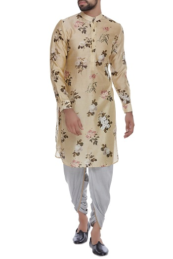 Printed Designer Kurta For Men