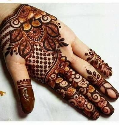 Bharwa Eid Mehndi For Beginners