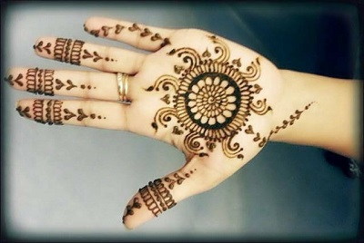 Eid Mehndi For Kids Simple and stylish