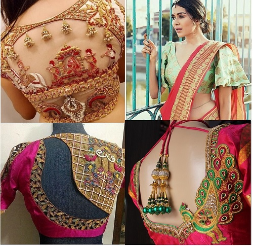 Latest Blouse Designs for Sarees