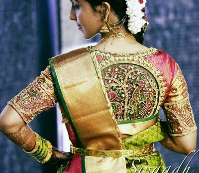 south indian blouse design
