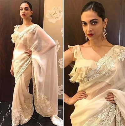 All over frill blouse for Saree
