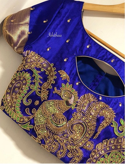 Bridal Banarasi Blouse Design