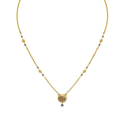 Daily use Mangalsutra with Small Locket