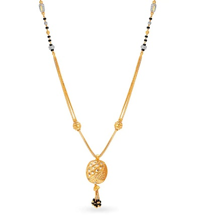 Fancy Everyday Use Mangalsutra Design