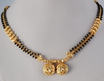 Short Mangalsutra with Double Chains