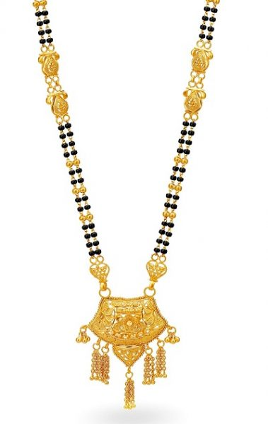 Beaded Chain of Gold mangalsutra