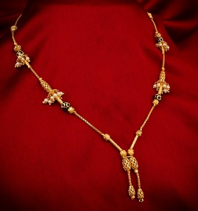 Beautiful gold Mangalsutra for Festive look