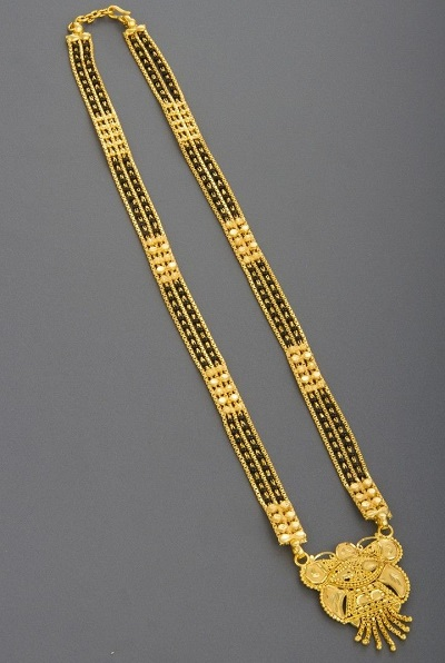 Gold Only Heavy Mangalsutra Design