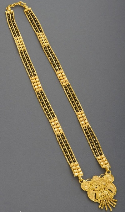 Heavy Side Chain Gold Only Pendant Design