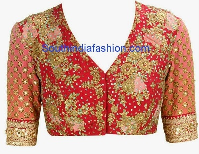 Heavy Thread work blouse for parties