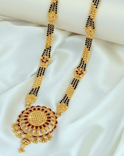 Intricately Made Heavy Mangalsutra Design