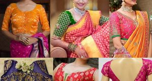 Latest Banarasi Blouse Designs