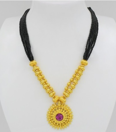 Simple And Traditional Mangalsutra Design