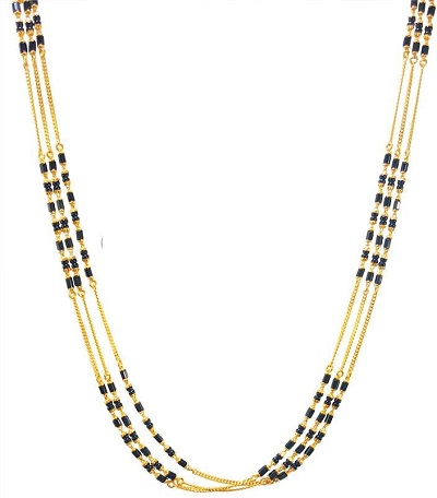 Simple Mangalsutra for professional women