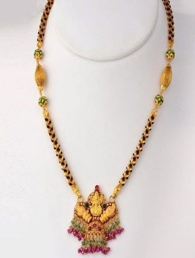 Temple Design Heavy Mangalsutra Pattern